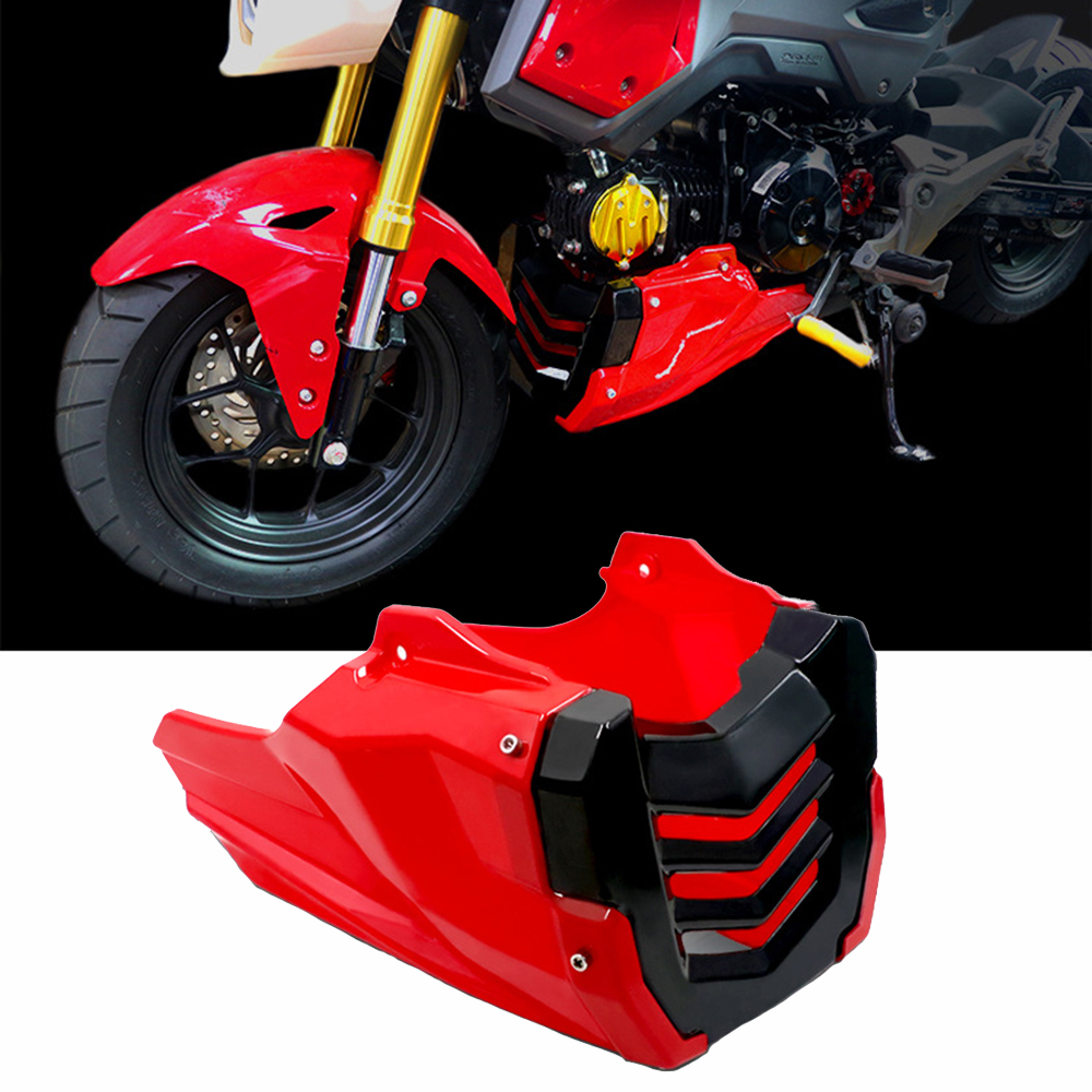 New Style Motorcycle Engine Guard Cover For Honda MSX125 MSX 125 SF 125SF Chassis Shrouds Protection Fairing Belly Protector