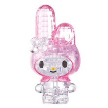 Toys Crystal Jigsaw Intellectual Rabbit-Shape Early-Educational Kids Cute 3D for Decorate