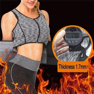 Image 2 - NINGMI Women Sauna Vest Slimming Waist Trainer Tummy Trimmer Body Shaper Slim Neoprene Sweat Shirt Zipper Weight Loss Tank Top
