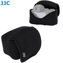 JJC étui pour appareil photo sans miroir pour Nikon Z50 + objectif 16 50mm + Nikon HN 40/JJC LH HN40 étui pour appareil photo à capuche avec sangle intérieure