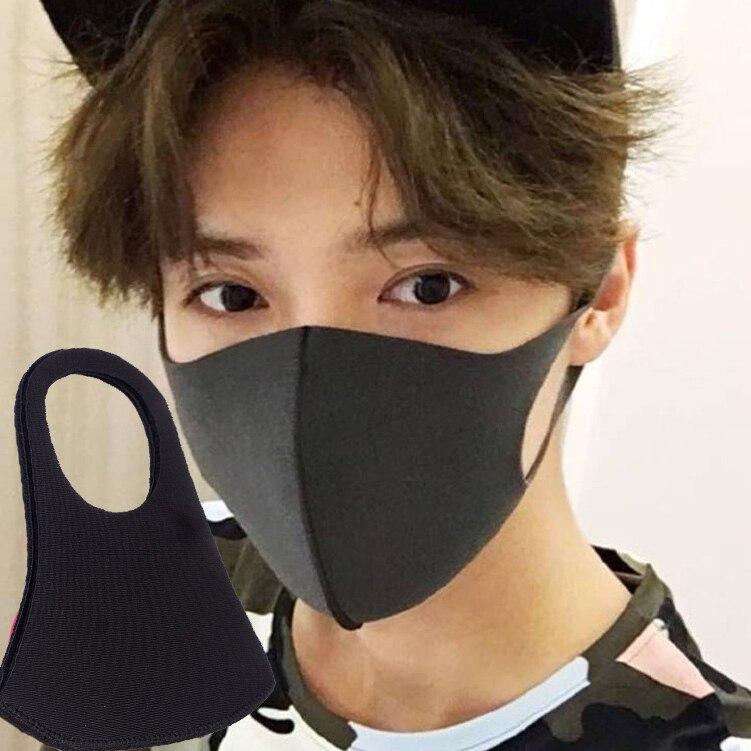 1PCS Winter Maska Dustproof Mouth Face Mask Anime Cartoon Kpop Lucky Bear Women Men Muffle Face Mouth Masks K-pop