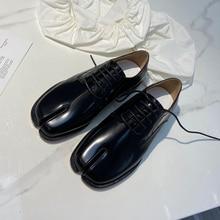 Frauen Frühjahr Echtem Leder Loafer Für Frau Hohe Qualität Damen Einzelnen Wohnungen Schuhe Separate Kappe Casual Schuhe Frauen Schuhe