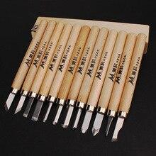 12pcs Woodcut Knife wood carving tools  DIY Pen hand tool sets  woodworking tools   Cutter Graver hand tool sets matrix 13562