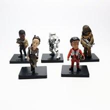Фигурка из аниме «Звездные войны» модель 5 шт/компл игрушка