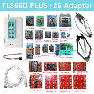 Image 5 - V9.00 XGecu 100% orijinal TL866ii Plus EEPROM programcı daha iyi thanTL866CS Bios Nand programcı PIC AVR 24 93 25 MCU Bios EPROM
