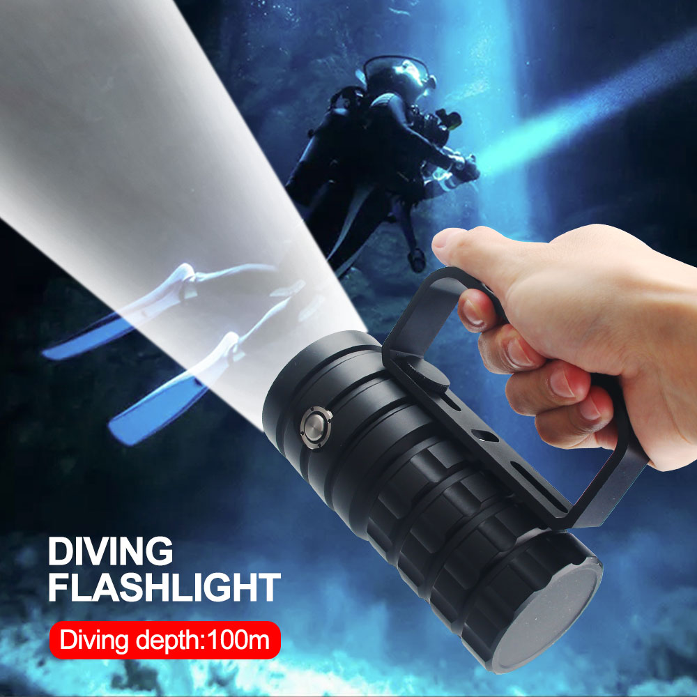 xhp50 led fotografia subaquatica 100m camera de 02