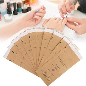 Image 2 - 10Pcs Disposable Sterilization Cosmetics Nail Tool Bag Gel Polish Remover Cleaning Cotton Pad Swab
