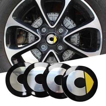 4 sztuk zestaw naklejki koła dla Mercedes Smart Fortwo Forfour 453 451 450 zmodyfikowany pokrywa koła naklejki samochodowe akcesoria 55mm tanie i dobre opinie Opony i Obręczy CN (pochodzenie) Inne naklejki 3d Zmieniające kolor Stop metalu Bez opakowania