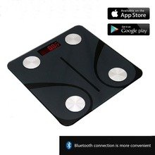Weight scale Bluetooth body scale USB charging weight fat body fat app adult electronic scale   3