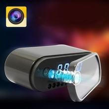 Mini câmera 1080 completo relógio de alarme noite detecção movimento wi fi ip cam dv dvr filmadora vigilância segurança em casa usb
