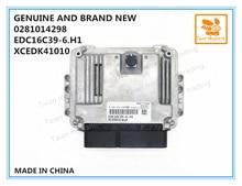 GENUINE AND BRAND NEW ECU 0281014298, ENGINE CONTROL UNIT EDC16C39 6.H1, XCEDK41010