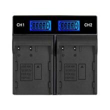 Chargeur de batterie de caméra numérique, accessoires de caméra EN-EL3E, double chargeur, écran LCD, chargeur de batterie Portable ENEL3 EL3A