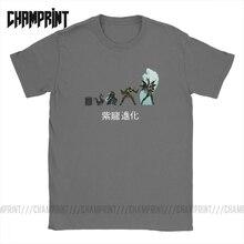 Shiryu Evolution Camiseta de algodón para hombre, camiseta de manga corta de los caballeros del zodiaco, camiseta de Anime de los 90, talla grande