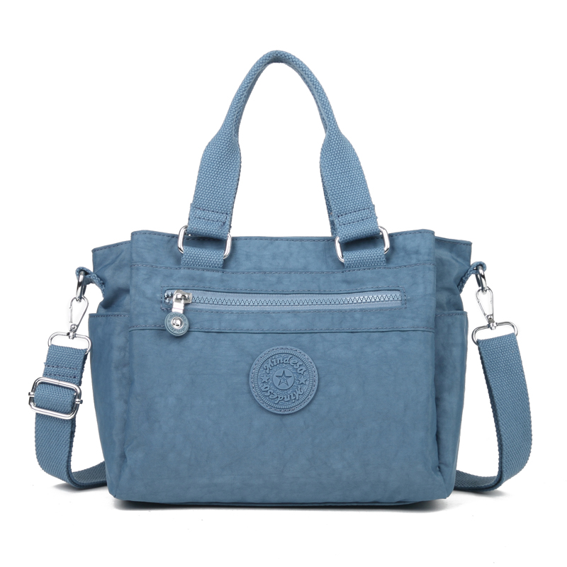 Kedanison Nylon Waterproof Hobo Bags Large Capacity Tote Bag