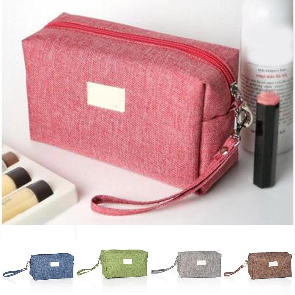 Hot Selling Women Toiletry Bag Travel Waterproof Makeup Organizer Bag Necessity Storage Pouch -B5