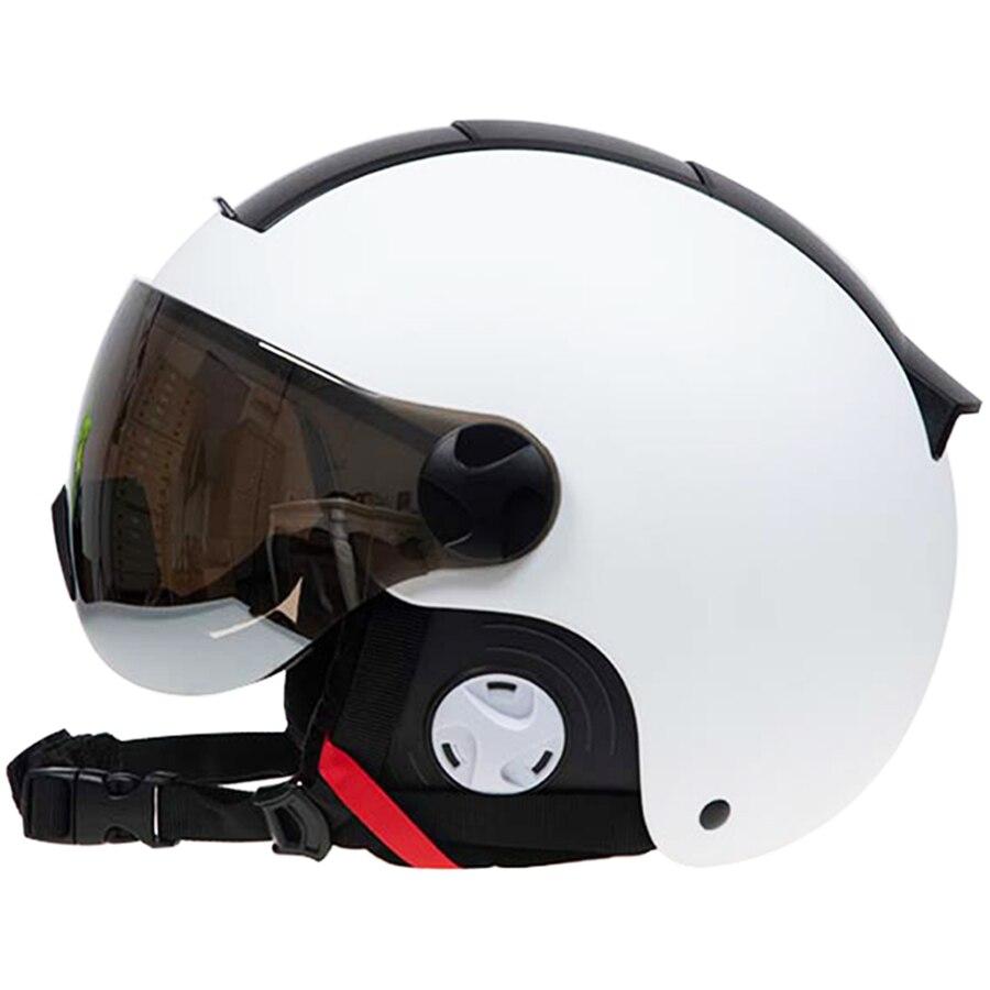 LOCLE Men Women Ski Helmet IN-MOLD Winter Sports Skiing Helmets Ski Snowboard With Goggles Mask Snow Skate Helmet Snowmobile
