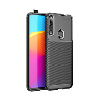 style protective For Huawei Y9 Prime 2019 Case Business Style Silicone Shell Coque TPU Back Phone Cover Protective Case For Huawei Y9 Prime 2019 (2)