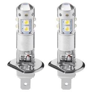 2 шт. Автомобильный светодиодный головной светильник 6000K H1 80 Вт высокой мощности Мощность COB светодиодный головной светильник дальнего и ближнего света Противотуманные Светильник лампы аксессуары авто светодиодный автомобильный набор|Передние LED-фары для авто|   | АлиЭкспресс