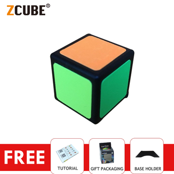 ZCube 1x1 Mini Keychain Magic Cube Puzzle 2cm Funny Educational Toys For Kids Gift - discount item  36% OFF Games And Puzzles