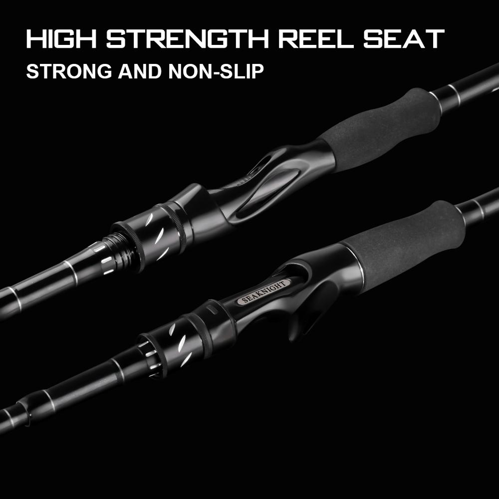 SeaKnight Telescopic Fishing Rod Made with Carbon Fiber Material and Ceramic Guide Ring 4