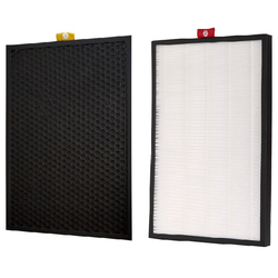 1Set Carbon HEPA Filter for Honeywell Air Purifier KJ300F-PAC1101W KJ300F-PAC1101G KJ300F-PAC2101S PAC35M2101T2 JAC35M2101W