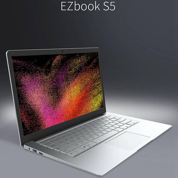 Jumper EZbook S5 14.0 Inch Laptop E3950 Quad Core 8GB RAM DDR4 256GB RAM SSD 1920 * 1080 IPS Windows 10 Ultrathin Notebook