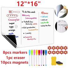 """12x16 """"магнитная доска для сухой стирания магниты на холодильник"""