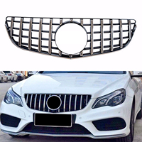 Front Grill Upper Grille For Mercedes Benz E Class W207 C207 E200 E250 E350 E550 2014 2015 2016 Saloon Wagon Coupe GTR Style