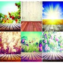 Виниловый фон для фотосъемки на заказ с изображением цветов