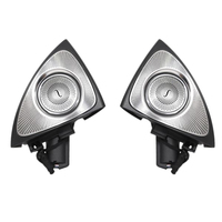 Car Interior 64 Colors Led Ambient Light 3D Rotary Tweeter Speaker for Mercedes Benz X253 Glc Class(X253)(3D Rotary Tweeter Spea
