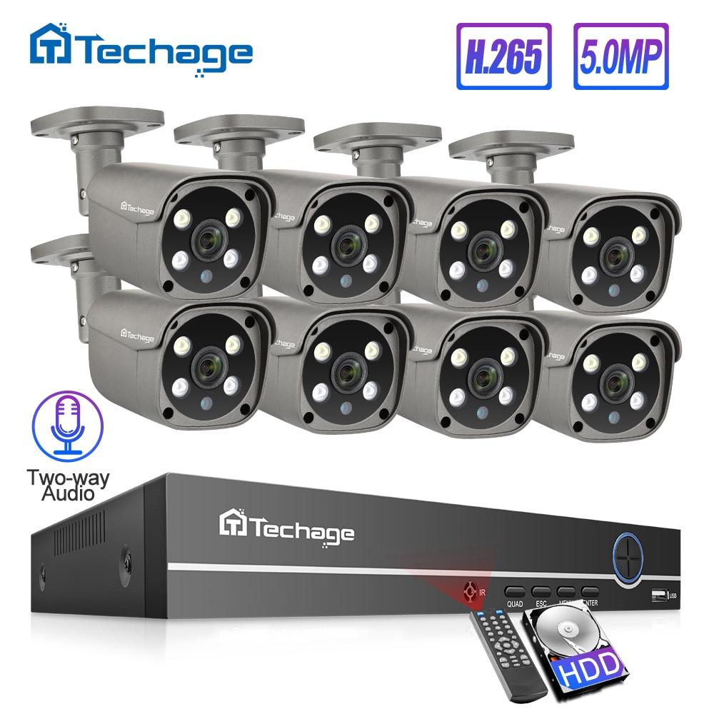 Techage H.265 8CH 5MP…