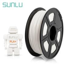 Sunlu 1.75mm pla mais filamento 3d para impressora 3d plástico pla + 3d material de impressão 1kg com carretel
