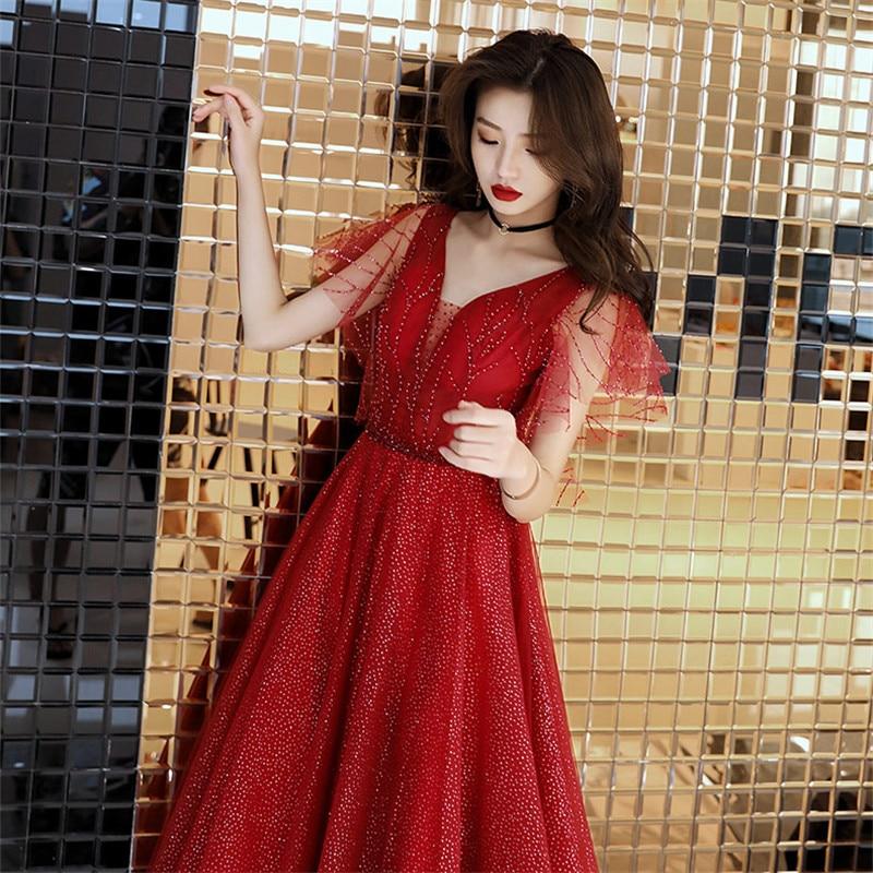 Robe Floor-length Dress Evening
