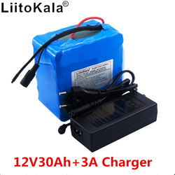 12v lithium battery 30ah high current large capacity 30,000 mAh xenon lamp motor mobile backup battery