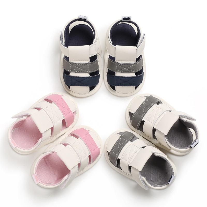 Newborn Boy Summer Shoes Toddler Infant Baby Sandals  Soft Bottom  First Walker B214  TX02