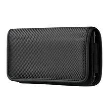 Horizontal Nylon Belt Loops Cellphone Holster Holder Carrying Case Sleeve Pouch for Men