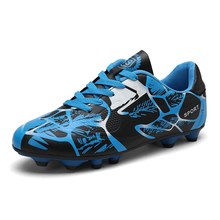 Spike Soccer Shoes Men Football Kids Boys Summer Breathable Sneakers Anti-skid Sport Outdoor Boots