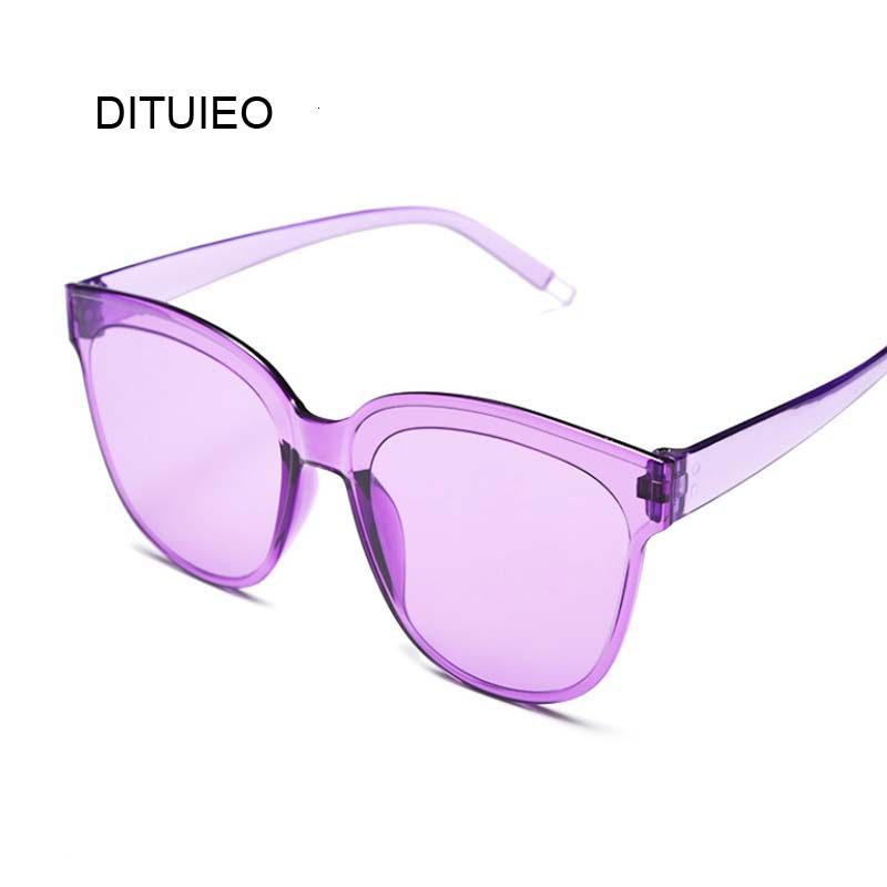 New Classic Oval Women Sunglasses Female Vintage Luxury Plastic Brand Designer Cat Eye Sun Glasses UV400 Fashion