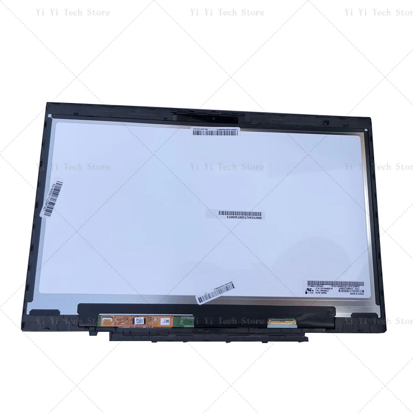 For Lenovo X1 Carbon LP140QH1 SPA2 LP140QH1-SPA2 LCD Touch Screen Digitizer Assembly With Frame Bezel LP140QH1 (SP)(A2)
