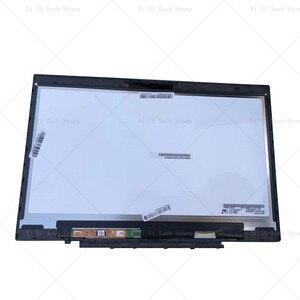 Image 1 - Lenovo X1 karbon LP140QH1 SPA2 LP140QH1 SPA2 LCD dokunmatik ekran Digitizer meclisi ile çerçeve çerçeve LP140QH1 (SP)(A2)