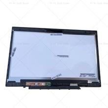레노버 X1 탄소 LP140QH1 SPA2 LP140QH1 SPA2 LCD 터치 스크린 디지타이저 어셈블리 프레임 베젤 LP140QH1 (SP)(A2)