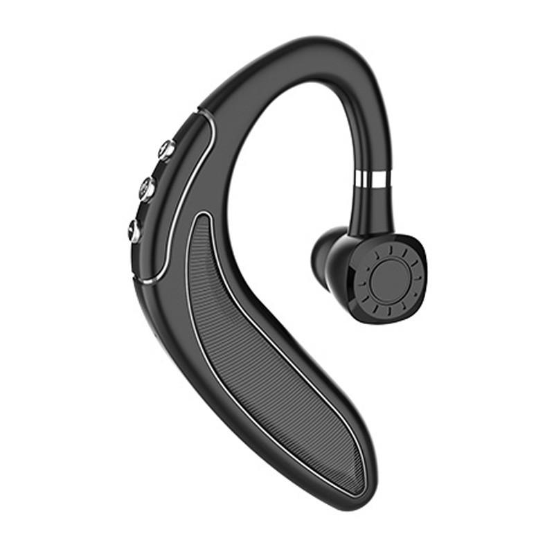 New HMB-18 Single Ear Earhook 5.0 Bluetooth Headset Business Car Sports Long Life 250 mAh Bluetooth Earphone