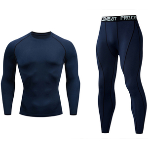 Cycle clothing Sets Men Compressed under