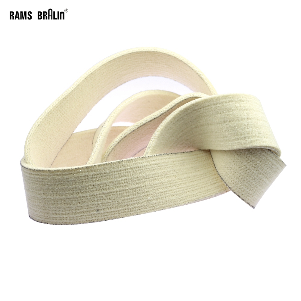 1piece Wool Felt Sanding Belt 762/1220/1829/2000 X 25/50mm For Stainless Steel Pipe Mirror Polish
