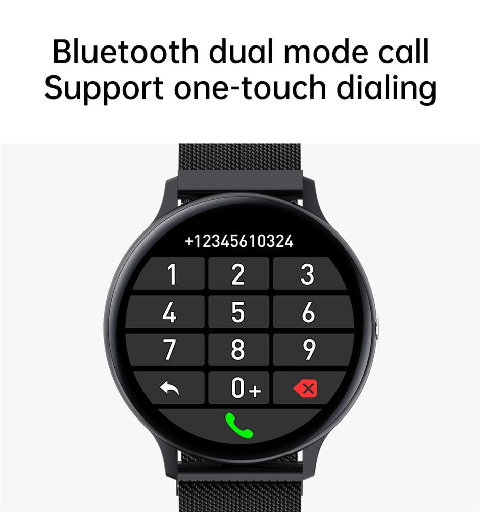 H540f7504b30440a7a46a114bbcbd8d484 LIGE New Smart Bluetooth Call Watch Men Women Heart Rate Sports fitness tracker Bracelet Watch Man for Android IOS Xiaomi Huawei