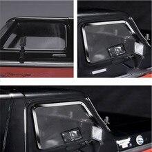 金属製の側面窓枠 + リアウィンドウフレーム + フロント窓枠 1:10 ためトラクサス TRX 4 TRX4 フォードブロンコ RC 車の部品