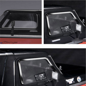 Image 1 - Metal Side Window Frame+Rear Window Frame+Front Window Frame For 1:10 TRAXXAS TRX 4 TRX4 Ford Bronco RC Car Parts
