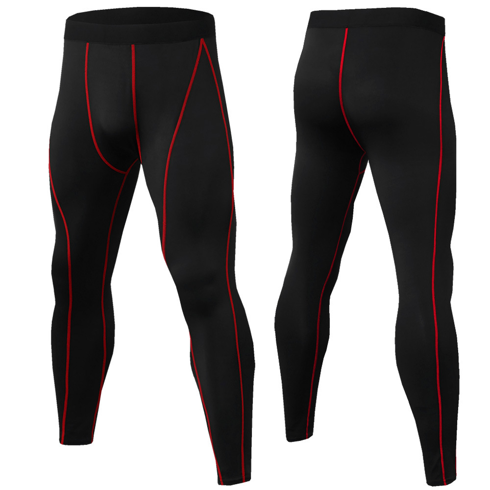 Men's Fitness Running Tights Yoag Trousers Jogger Sports Leggings Athleisure Sportswear Jog Elastic Breathable Compression Pants
