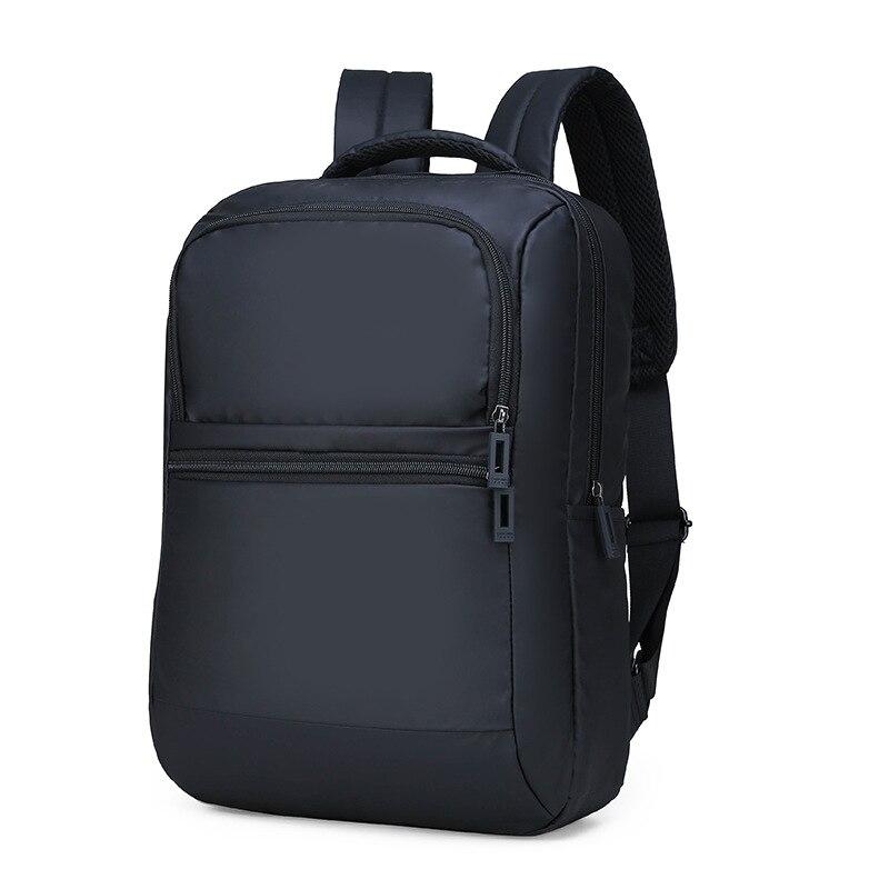 2019 Новая мужская сумка Корейская мода Повседневный водонепроницаемый нейлоновый рюкзак студенческий рюкзак Противоугонная сумка для