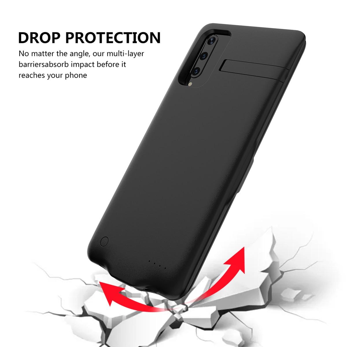 Для huawei Honor 9X Pro 6500 мАч зарядное устройство чехол Расширенный аккумулятор резервного питания защитная крышка задний Чехол бант Fundas